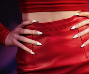 fashion, red, and nails image