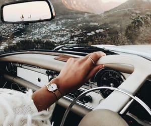 car, travel, and mercedes image