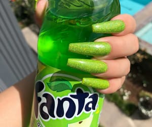 nails, fanta, and green image
