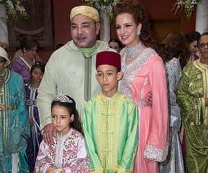 family, king, and morocco image