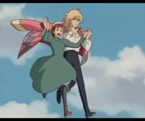 howls moving castle, anime, and ghibli image