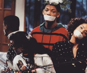 90's, fresh prince, and will smith image