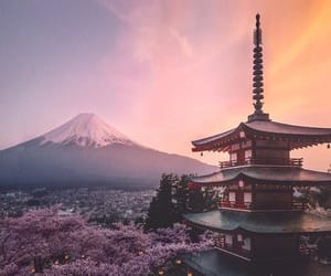 spring, city, and japan image