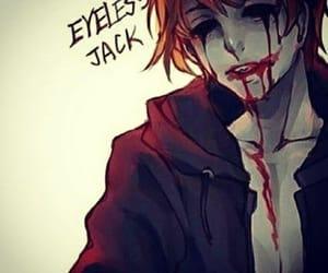 creepypasta and eyeless jack image