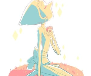 steven universe and pearl image