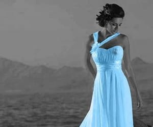 blue gown image