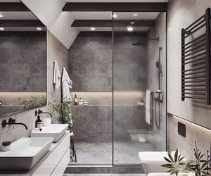 home, bathroom, and design image