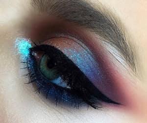 aesthetic, eyeshadow, and brows image