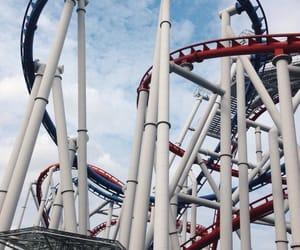 amusement park, live, and brave image