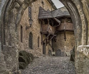 medieval, architecture, and castle image
