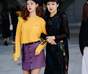 fashion, korean, and street image