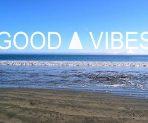 beach, good, and summer image