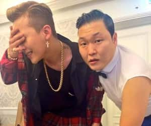 g-dragon, gd, and psy image