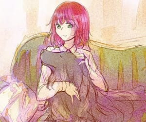 anime girl, anime couple, and anime animal image