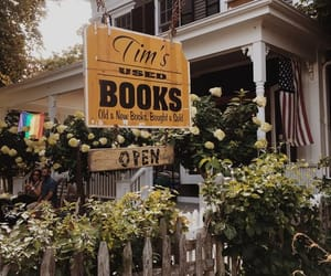 books and flowers image