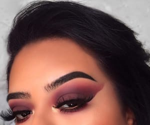 beauty, eyebrows, and contour image