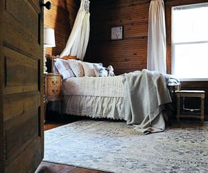 bedroom, interior decorating, and country living image