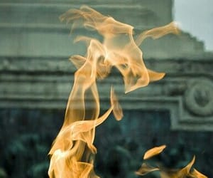 fire and flame image