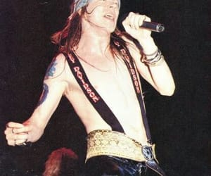 aesthetic, axl rose, and band image