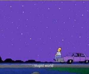 simpsons, world, and quotes image