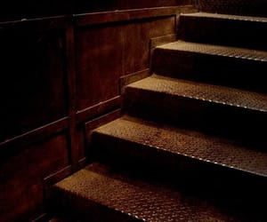 brown and stairs image