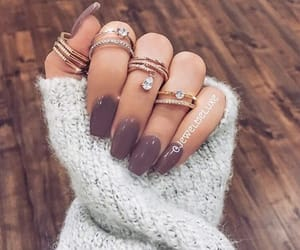 beauty, fashion, and rings image