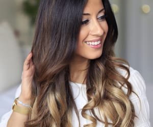 curls, hairstyle, and balayage image