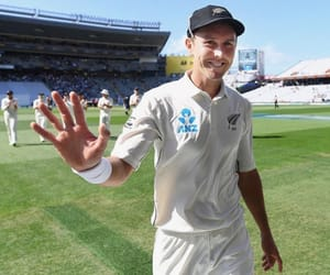 cricket, trent boult, and black caps image