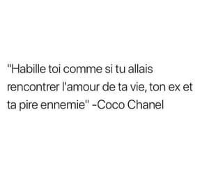 coco chanel, french, and mots image