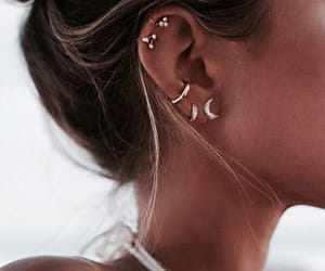 earrings, fashion, and indie image