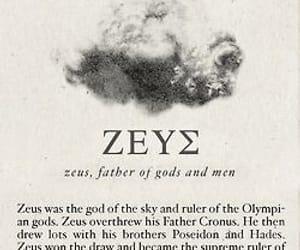 Zeus, greek, and mythology image