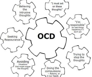 anxiety, chart, and disorder image