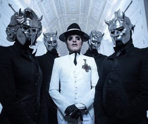 band, ghost, and music image