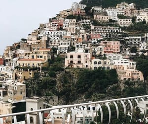 Amalfi coast, fav, and Houses image