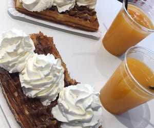 chantilly, miam, and gaufre image
