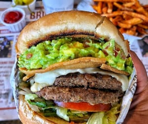 delicious, fast food, and food image