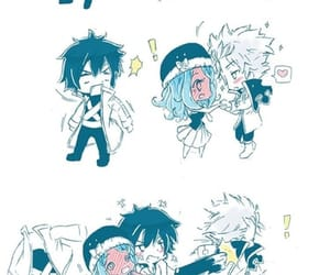 fairy tail, gruvia, and lyon image