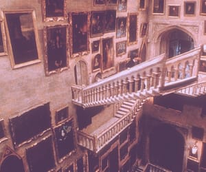 harry potter, hogwarts, and stairs image