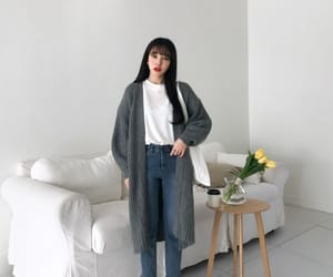 asian, korean, and clothes image