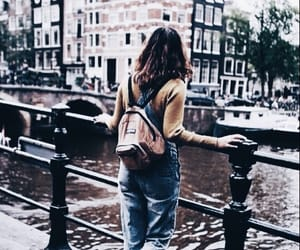 travel, city, and outfit image