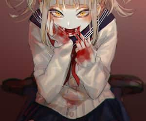 anime, boku no hero academia, and toga himiko image