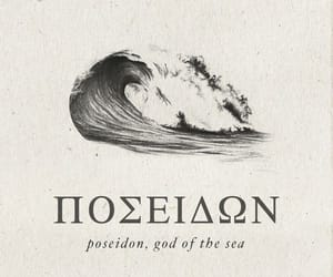 poseidon, mythology, and greek image