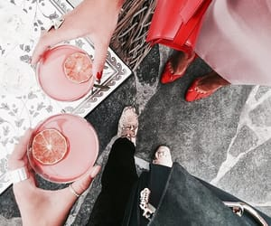 aesthetic, drinks, and fashion image