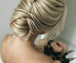 bride, mariage, and haire image
