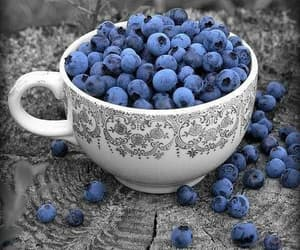blueberry, berries, and food image
