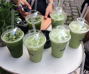 drink, green, and delicious image
