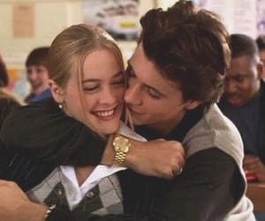 Clueless, couple, and 90s image