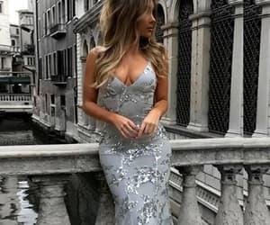 Prom, graduation dress, and mermaid dress image