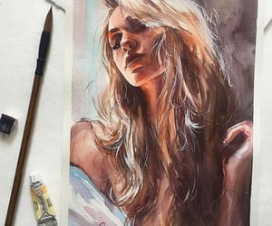 draw, illustration, and painting image