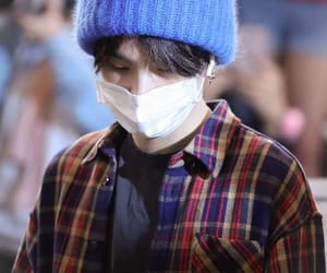 kpop, airport fashion, and suga image